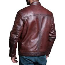 classic leather jacket zoom mens