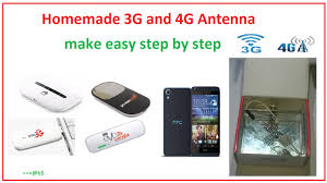 how to make powerful 3g and 4g antenna at home easy step by step