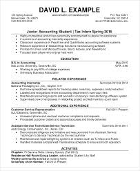 Junior Accountant Student