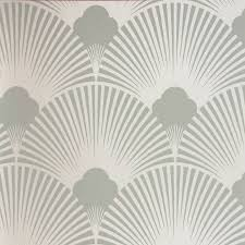 art deco fan pattern wallpaper uk