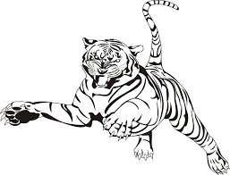 Small Picture Coloring Site Coloring Pages Of A Tiger On Creative Animal