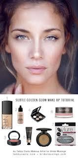 natural golden glow gorgeous everyday natural makeup tutorials