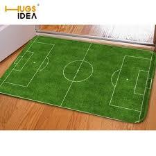 american turf and carpet unique hugsidea carpets tapetes creative football field print front