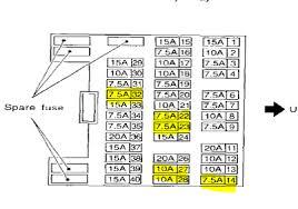 2001 infiniti qx4 fuse box diagram circuit diagram symbols \u2022 2001 Infiniti QX4 Problems at 2001 Infiniti Qx4 Antenna Wiring Diagram