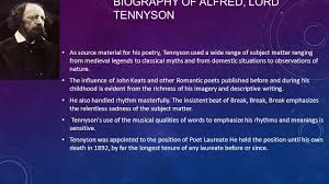crossing the bar by alfred lord tennyson ppt video online  biography of alfred lord tennyson