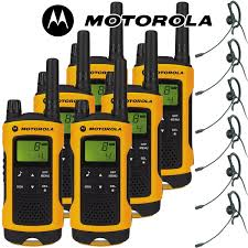 motorola tlkr t80. 10km motorola tlkr t80 extreme two way radio walkie talkie travel pack with 6 x headsets for tlkr