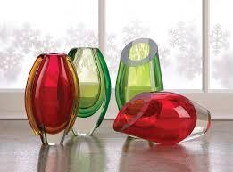 Modern Glass Vases Vases Decorative Small Modern Crystal Green Glass Vase Art Ebay