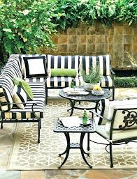 best of black and white striped patio cushions or black and white striped patio furniture black