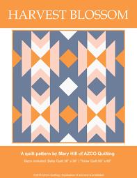 Quilt Patterns Southwest Designs Harvest Blossom Pdf Quilt Pattern Quilt Patterns Quilts
