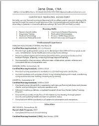 nursing assistant resume samples   easy resume samplesgallery of  nursing assistant resume samples