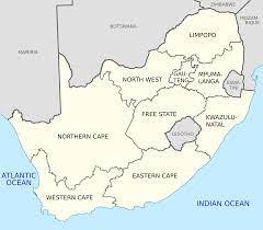 South Africa with English labels.svg ...