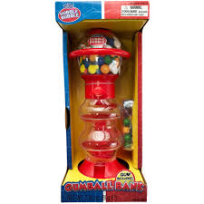 dubble bubble spiral gumball machine 11in image 1
