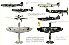 spitfire variants. supermarine spitfire ix variants 5view-960.jpg the box art den