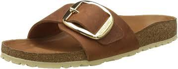 birkenstock madrid big buckle oiled leather narrow sandals 6 b m us women