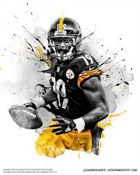 Daring Pittsburgh Interactive Smith-schuster Juju Boy Steelers