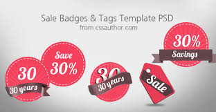 Download Free Sale Badges And Tags Template Psd - Freebie No: 3 ...