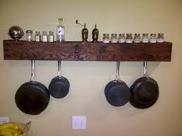 from pallet to pot rack diy pallet pan holder pallet