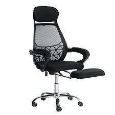 everking high back mesh recliner office chair with footrest ergonomic executive task reclining chair reclining office chair73