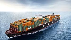 with its capacity of 19 900 teu the barzan is a container giant
