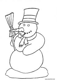 Small Picture Frosty The Snowman Coloring Pages GetColoringPagescom