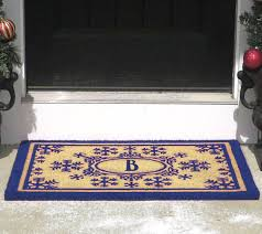 baby rugs doormats rug runners area for the home qvc round outdoor monogram initial and snowflakes coir