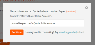 Quote Roller Impressive Quote Roller Integration Help Support Zapier