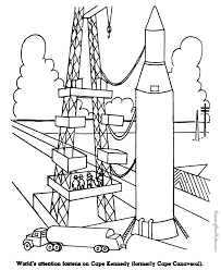 Small Picture Space Program history coloring pages for kid 117
