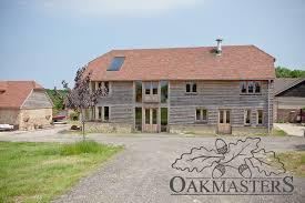 peter asked oakmasters to help him design the four bedroom oak framed house and help him get it through tricky planning the traditional oak barn design