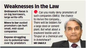 Internal revenue service insolvency unit. Insolvency Ordinance Has A Critic In Umarji The Economic Times