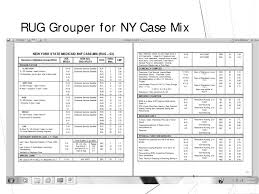 New York Case Mix Jan White Rn Senior Clinical