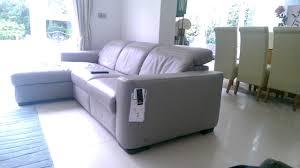 natuzzi leather sofa recliner ghost operation