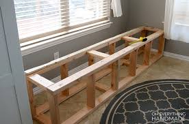 great kitchen nook bench with storage build everything handmade d m a home 88205 seating cushion ikea dimension