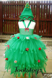 Christmas Tree Dressskirt For The Ugly Sweater Party  Costumes Girls Christmas Tree Dress