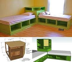 diy space saving furniture. how to diy corner unit for the twin storage bed and beds diy space saving furniture