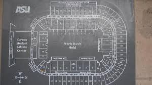 Frank Kush Field Seating Chart Sun Devil Stadium Picture Of Sun Devil Stadium Tempe
