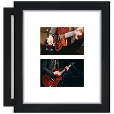 mainstays 8x10 matted to 2 4x6 openings format picture frame set of 6 com