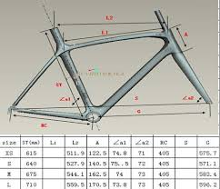 Look 695 Geometry Chart Wholesale New Arrived Look 695 Light Mondrian Road Frame Bike Frame With Pf30 Look 695 Bike Frame Carbon Bicycle Look 695 Carbon Frame F Full