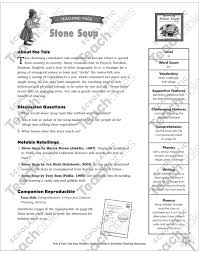 Click on the image to view or download the pdf version. Stone Soup Mini Book Activities Printable Graphic Organizers Mini Books