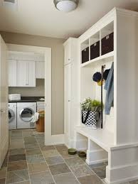 lighting for laundry room. Inspiration For A Mid-sized Timeless Single-wall Slate Floor Utility Room Remodel In Lighting Laundry