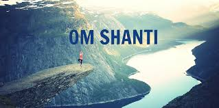 om shanti mantra path of peace om