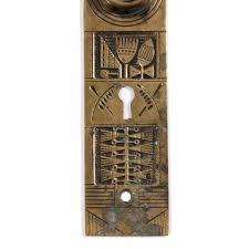 Antique Cast Bronze Eastlake Door Hardware Set, Nashua Lock Co. c ...