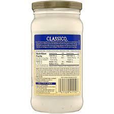 Classico Light Alfredo 4 Pack Classico Light Asiago Romano Alfredo Pasta Sauce 15