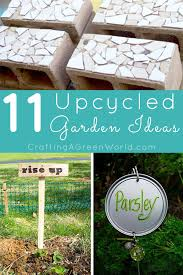 garden decorations. 11 Upcycled Garden Decorations