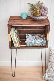 Storage & Organization: Diy Wood Crate Console Table And Shelf - Crate  Furniture