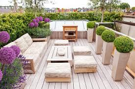 tall outdoor planters garden kitchen
