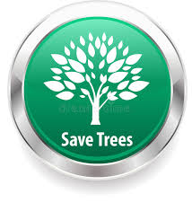 save tree and save nature badge background stock vector ilration of life friendly