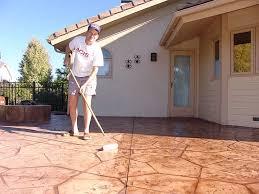 concrete patio sealer wet look how to seal concrete patio69