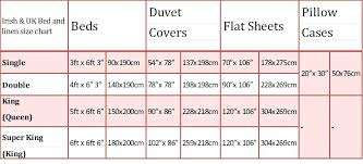 standard bed sizes us what are bed amp bedding sizes in and queen size with regard