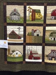 Timeless Traditions farm house and barn quilt. | Quilts ~ House ... & Timeless Traditions farm house and barn quilt. Adamdwight.com