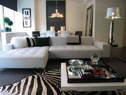 zebra cowhide rug for modern interior family room ideas with comfortable couches